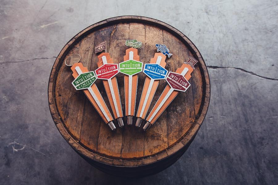 Intuition Ale Works Tap Handles