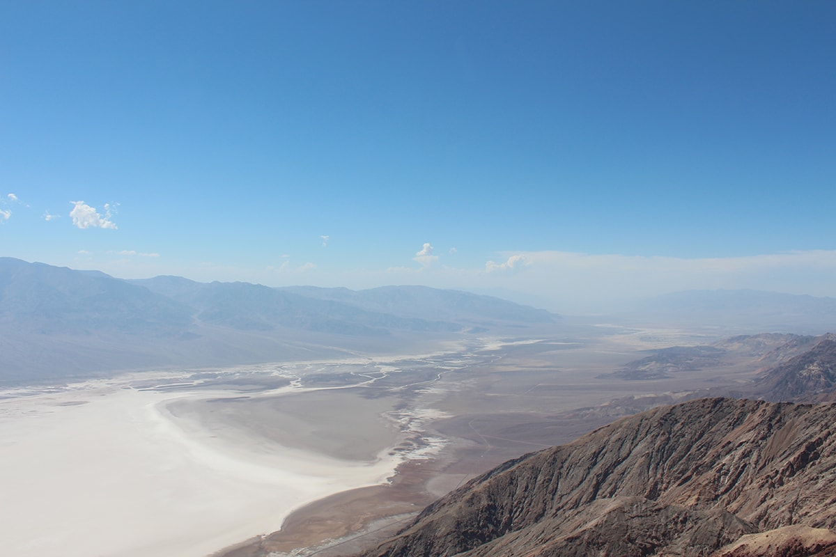 Overlook from Dante's View Death Valley National Park Nevada