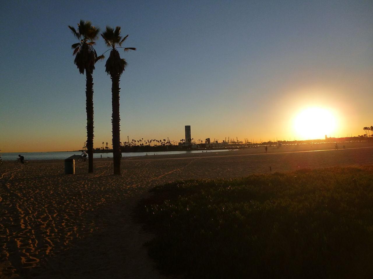 Long Beach, California Pacific Coast Highway