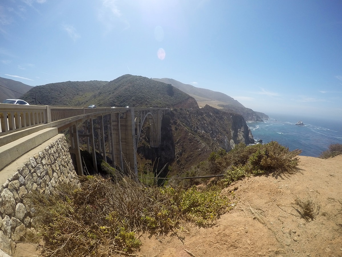 Bixby Creek Bridge Pacific Coast Highway