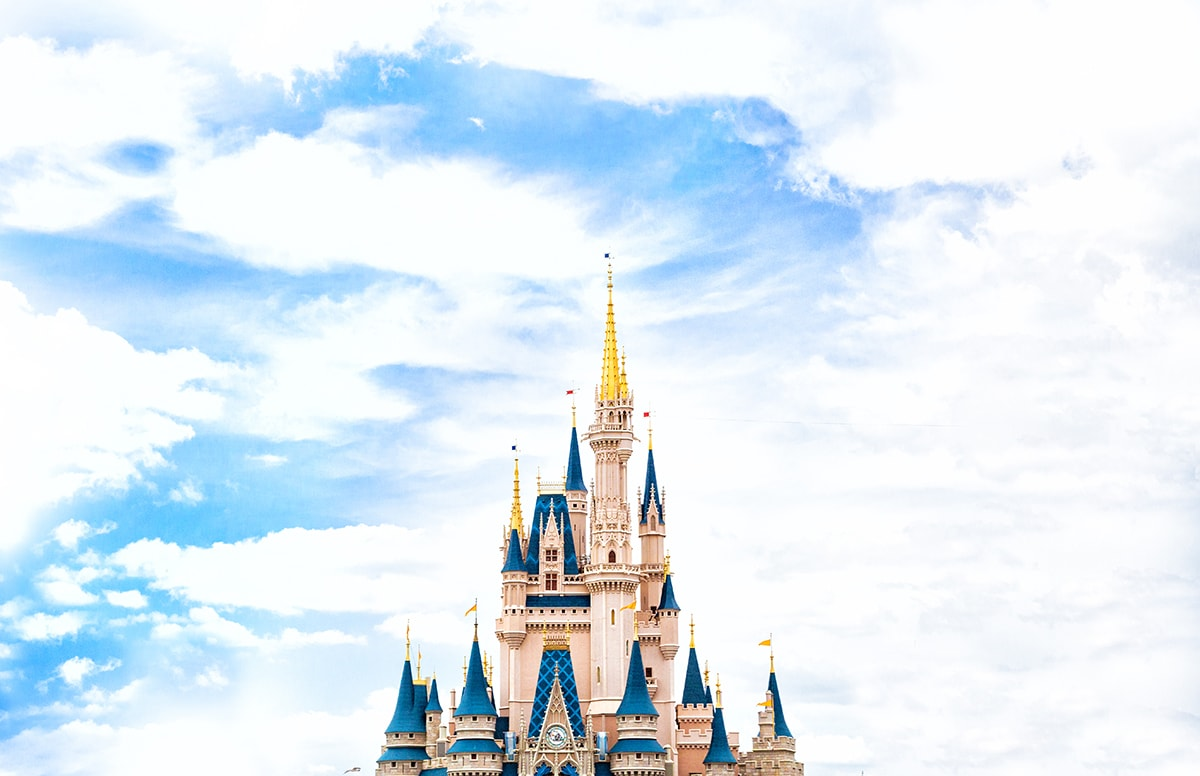Cinderella's Castle at Walt Disney World Resort Orlando, Florida