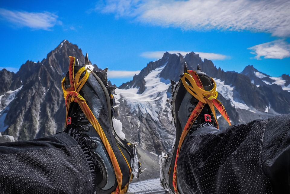 Glacial Descent – A Journey in the Grands Montets