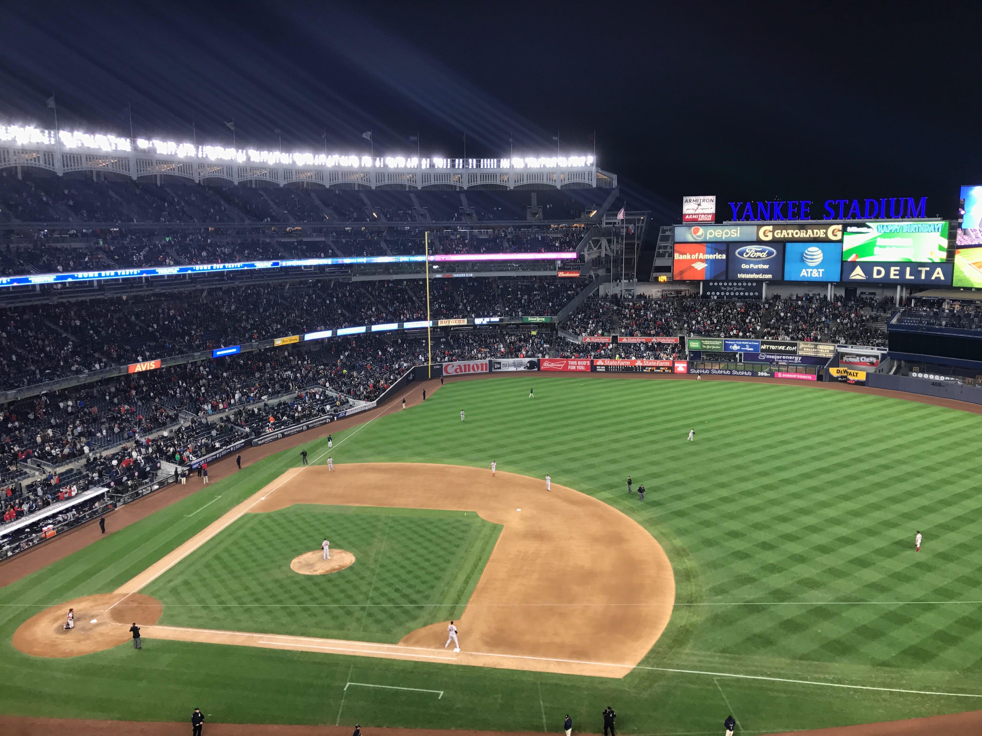 View from Yankees Stadium
