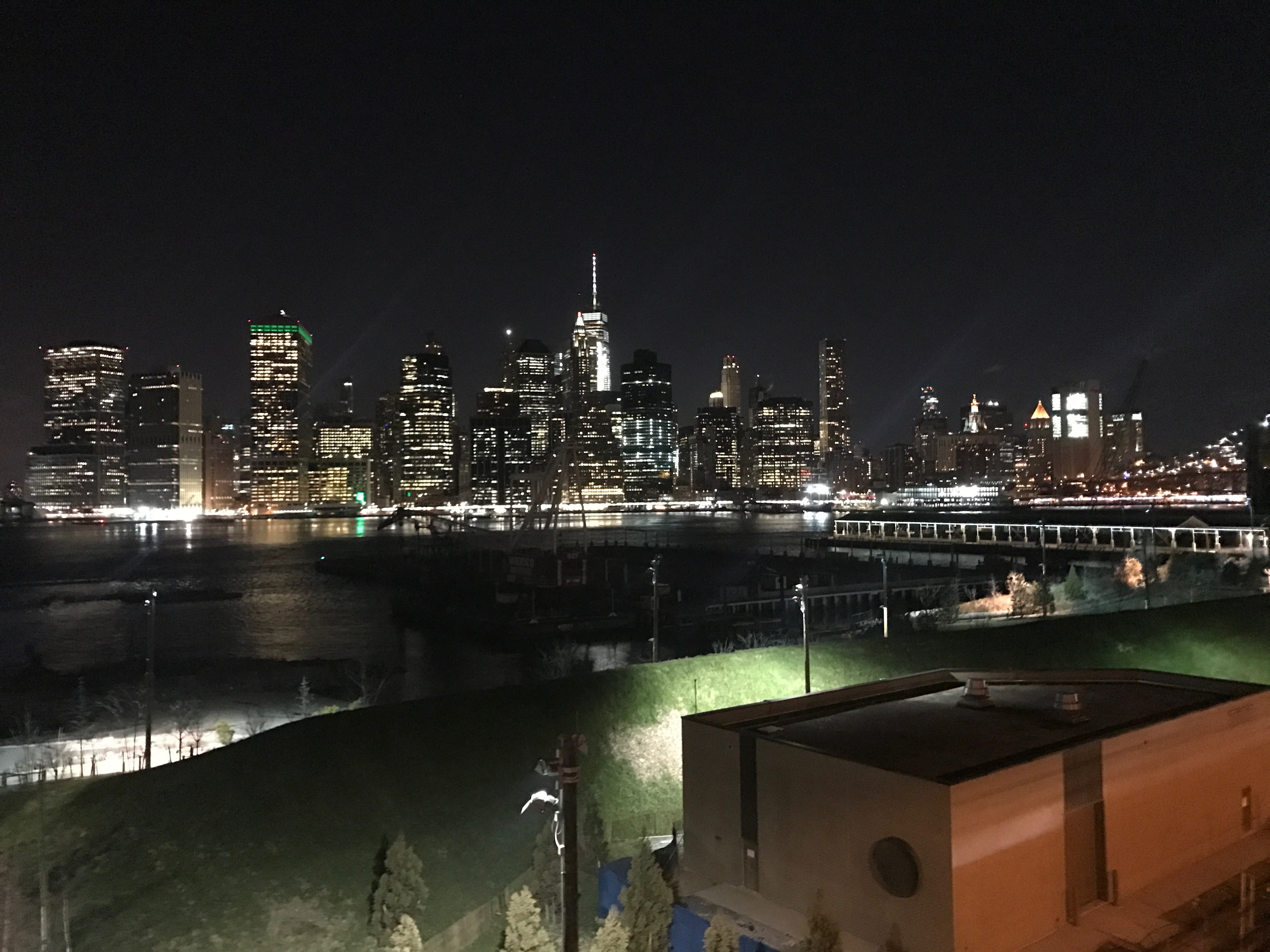 View of New York City skyline from Brooklyn Heights Promenade