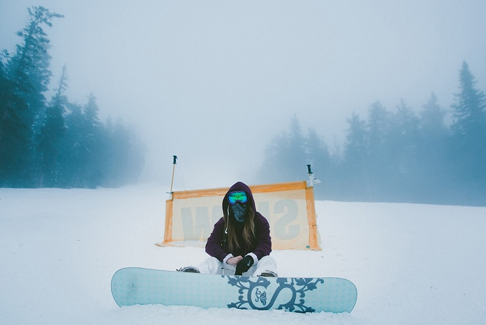 Learning to Snowboard in Northern Michigan